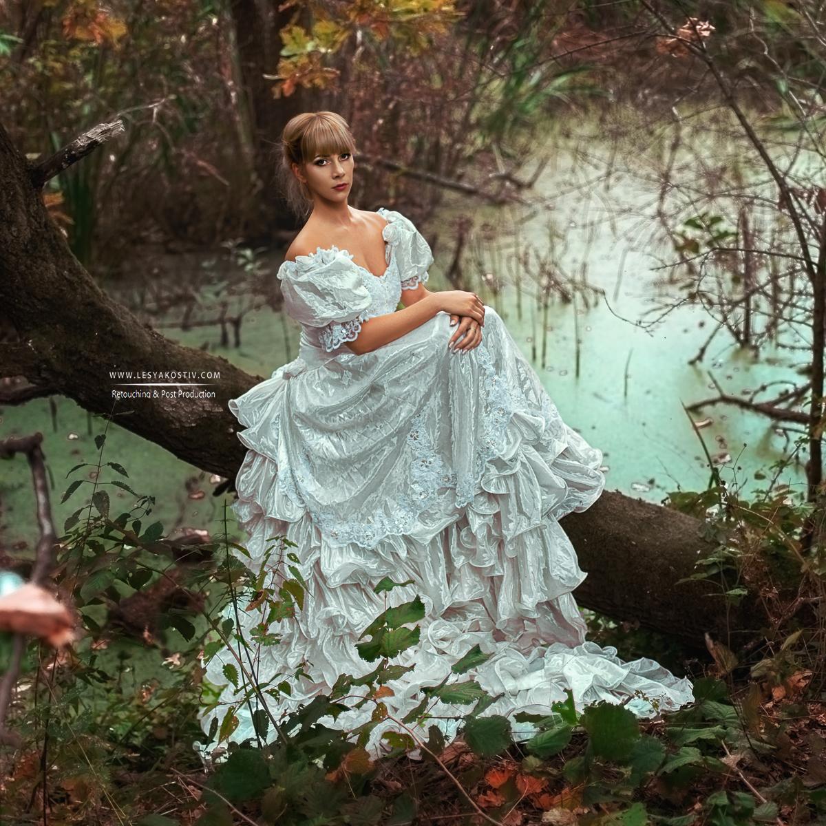 photo - Francheska Lu retouch - Lesya Kostiv