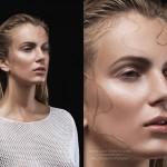 Beauty portrait retouch