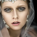 Bride beauty accessorize
