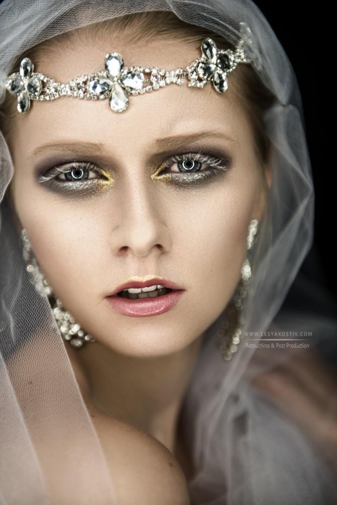 Bride beauty accessorize