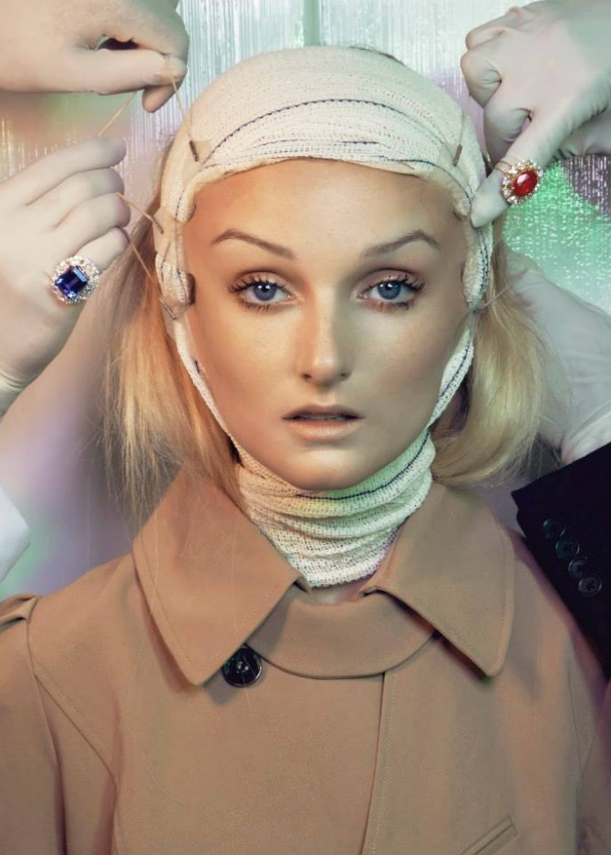 """Plastica"" for Vogue Brazil'15"