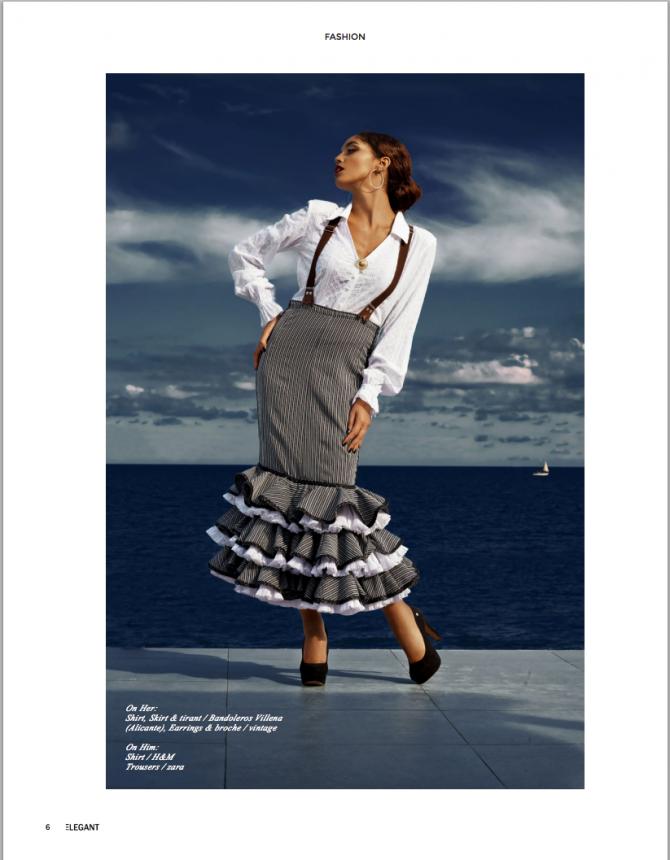 ANDALUCIAN editorial for Elegant Magazine'15