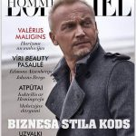 L'OFFICIEL Hommes Latvija cover & cover story