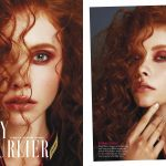 "GRAZIA magazine ""Curly"" beauty editorial"
