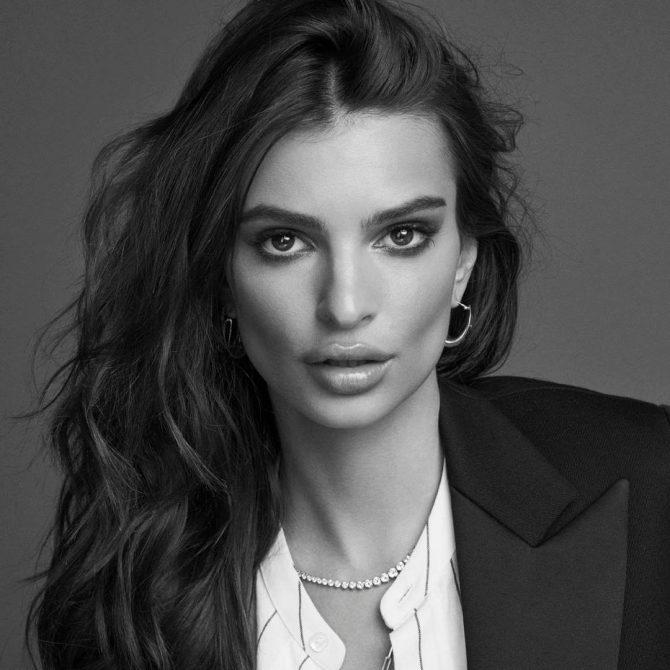 Emily Ratajkowski for L'Oréal Paris Kérastase.
