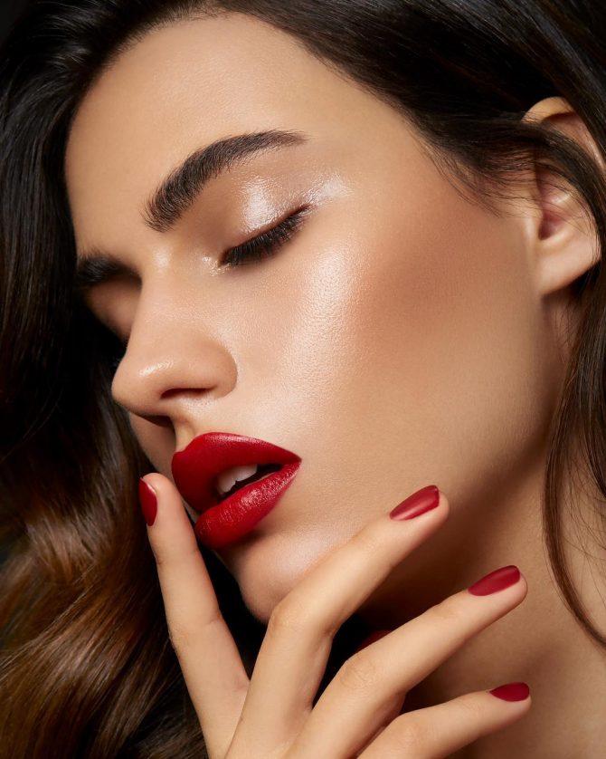 Vogue Australia published beauty campaign