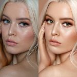 Beauty retouching Before / After