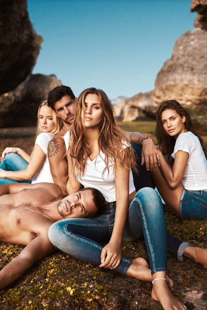 Rocky Bali fashion campaign