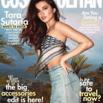 Cosmopolitan cover and cover story retouch